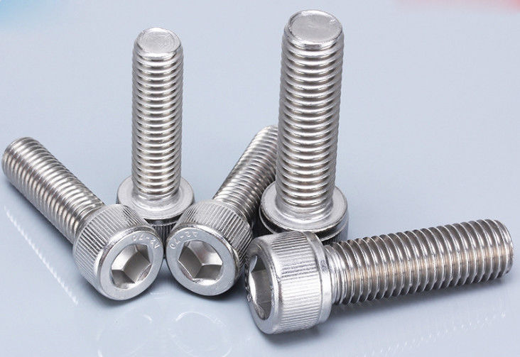 M4 Steel Machine Screws , Cheese Head Metric Precision Hex Socket Head Shoulder Screws